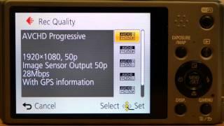 dMC-TZ35 vs TZ40 Panasonic Lumix Camera