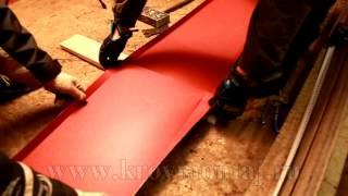 видео Чем лучше и дешевле покрыть крышу гаража – обзор материалов