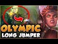 DUNK FROM A DISTANCE! ILLAOI OLYMPIC LONG JUMPER BUILD IS BUSTED! - League of Legends Gameplay
