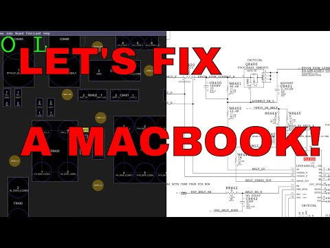 820-00840 A1708 Macbook Pro with no backlight: how to repair its logic board.
