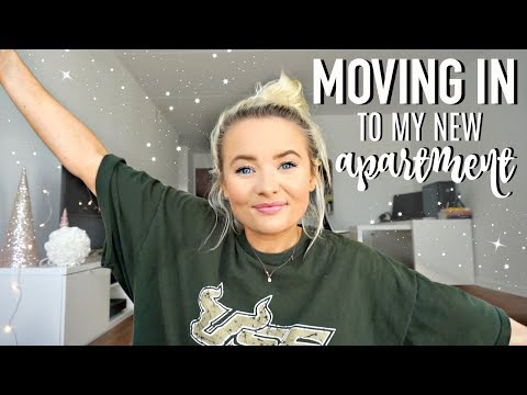 MOVING INTO MY NEW APARTMENT!
