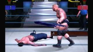 WWE SmackDown! Here Comes the Pain John Cena vs Brock Lesnar Three Stages Of Hell Match Part 2