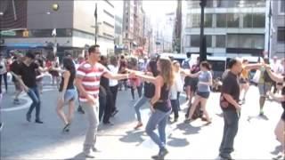 Ny Westie - 2pm - International Wcs Flash Mob (09/06/14), @ Union Square - Video # 1