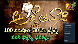 Agnathavaasi Firstlook Trending || Pawan Kalyan AgnathaVaasi 1st Look || Pspk25 Movie