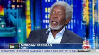 Morgan Freeman's Thoughts on racism and black history month!!!
