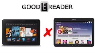 Samsung Galaxy Tab 4 Nook 10.1 vs Amazon Fire HDX 8.9