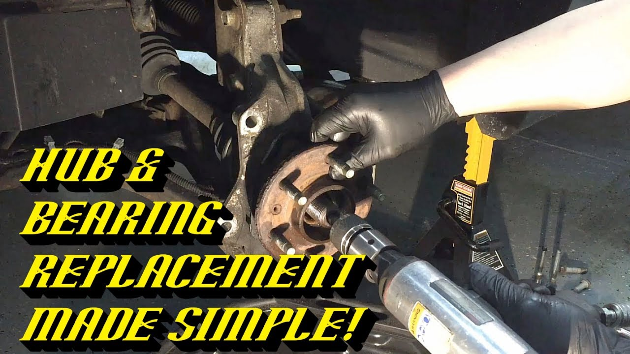 Chevrolet Uplander Humming Noise: Front Hub and Bearing Replacement