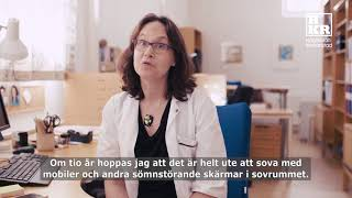 Pernilla Garmy, universitetslektor i omvårdnad/vårdvetenskap