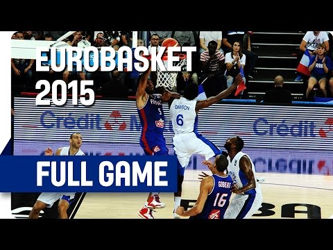 Israel v France - Group A - Full Game - Eurobasket 2015