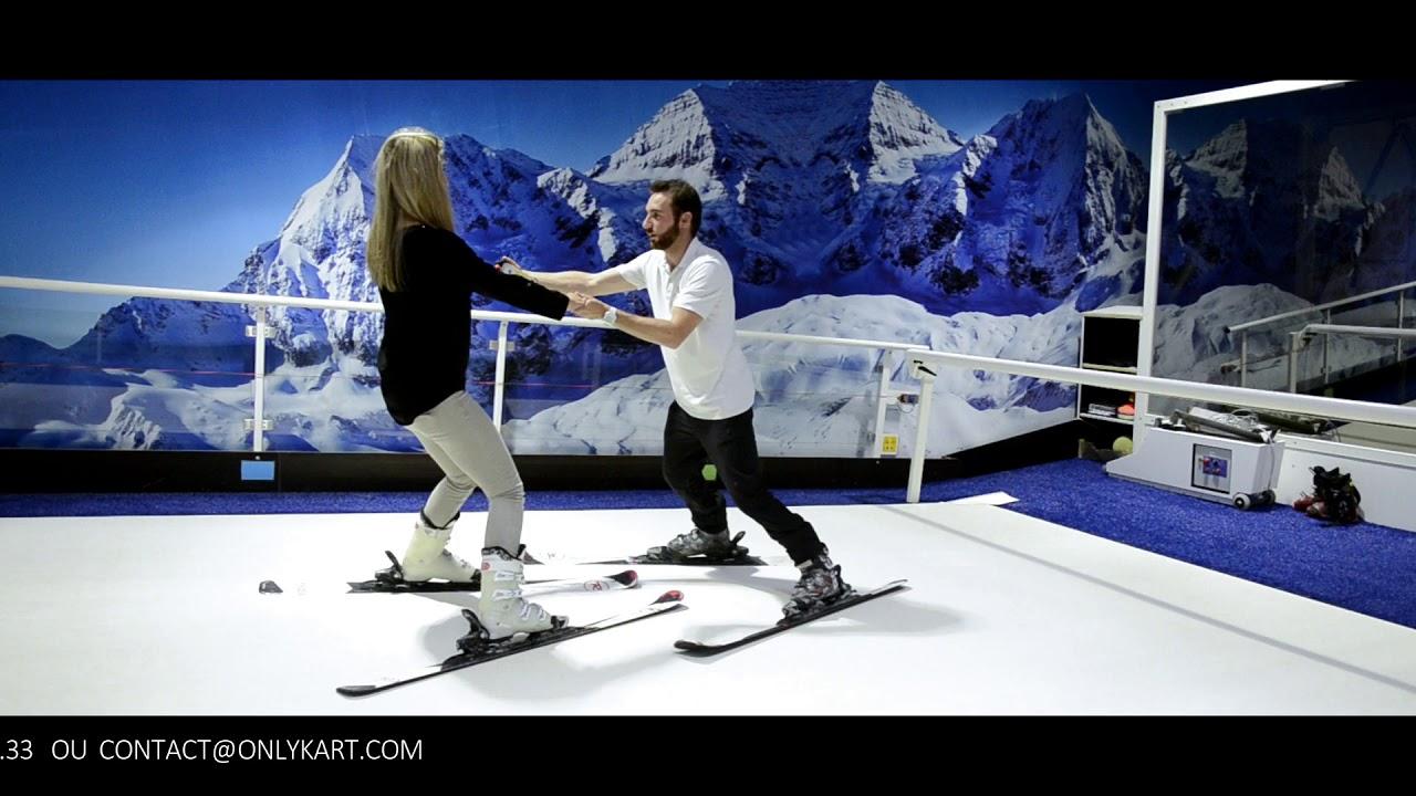 Présentation d'OnlySki, piste de ski indoor à côté de Lyon