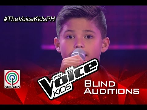 The Voice Kids Philippines 2015 Blind Audition: Night Changes  Kyle