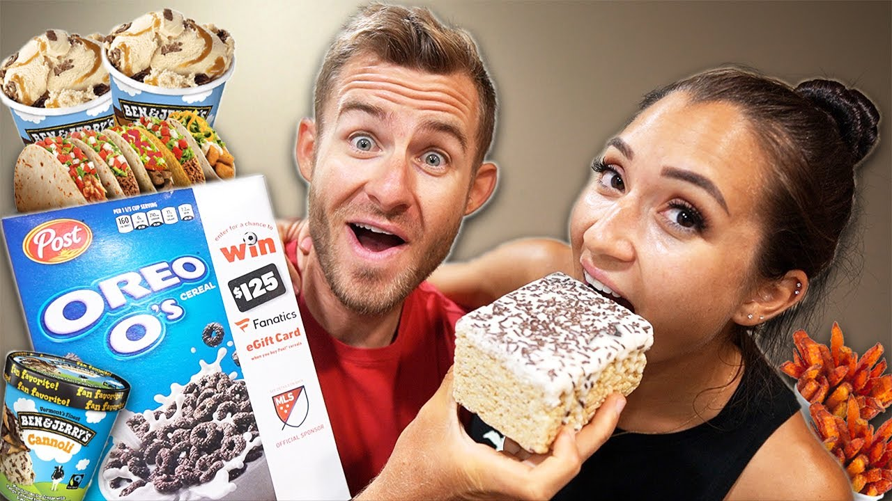 The Cheat Meal Chronicles! (GIANT Rice Krispies, Ice Cream & More)