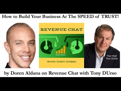 EP71. Doren Aldana: How to Build Your Business At The SPEED of TRUST!
