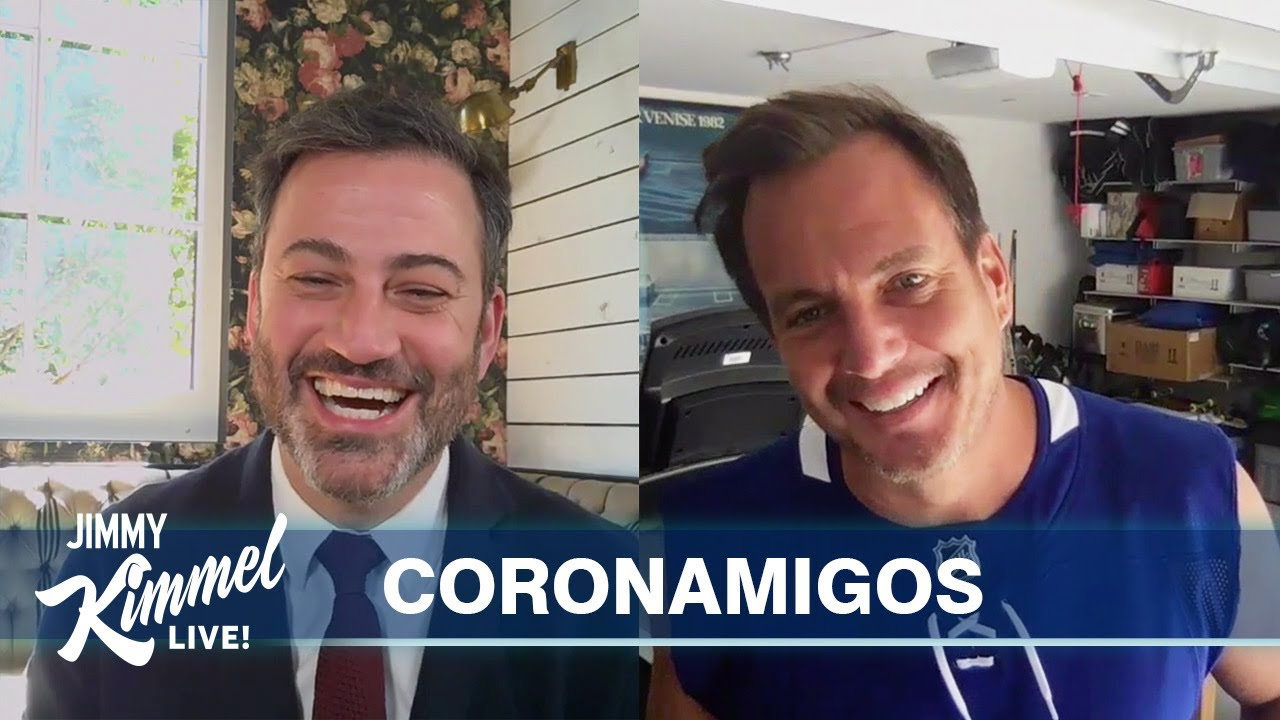 Jimmy Kimmel's Quarantine Minilogue – Formal Friday with Will Arnett & Guillermo