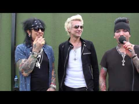 Kerrang! Download Podcast 2016: Sixx:A.M.