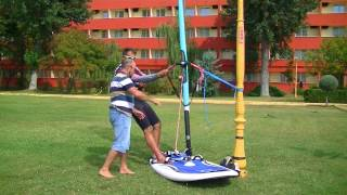 Planing technique  lesson  - Vladimir Rojco , Windsurfing Academy - Piccadilly Mamaia
