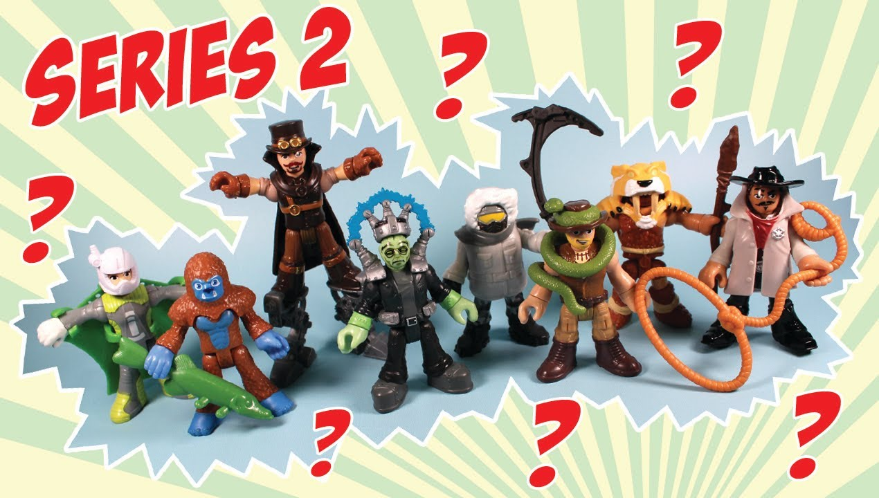 Imaginext Mystery Pack Figures Series 2 Opening And Codes