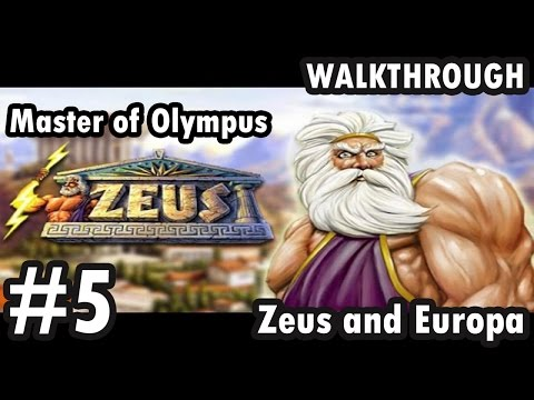 Zeus: Master of Olympus - Zeus and Europa - Part 5 - The wedding present (Walkthrough)