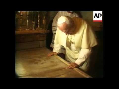 ISRAEL: JERUSALEM: POPE JOHN PAUL II - FINAL MASS (2)
