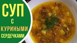Как приготовить суп с куриными сердечками: кулинарные рецепты приготовления первых блюд
