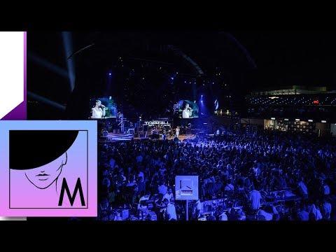 Milica Pavlovic: Gostovanje na koncertu Cece Raznatovic u Top Hillu (13.08.2017)