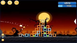 Angry Birds trick or treat 3 Estrellas parte 2-5