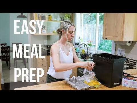 HEALTHY MOM MEAL PREP FOR A FAMILY OF 6