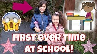HOMESCHOOLED KID GOES TO SCHOOL!👸 ELSIE