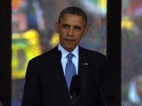 President Obama Honors Nelson Mandela's Legacy