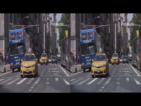 Panasonic 3D Demo 02 - A Day in The New York City - 1080P Side by Side