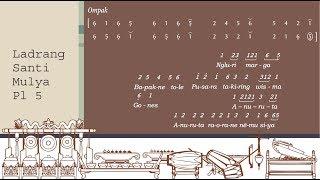Latihan Gerong:  7  Ladrang Santi Mulya Pelog 5  +sinden