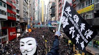 香港风云(2019年12月8日) 香港国际人权日集会和大游行
