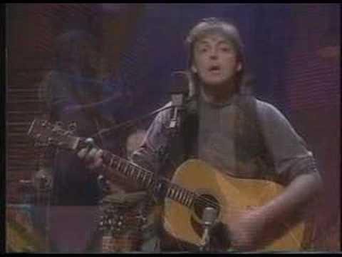 I´ve just Seen a Face - Paul McCartney Unplugged