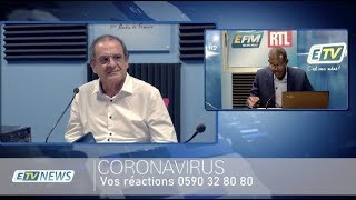 ÉDITION SPÉCIALE CORONAVIRUS - 22 AVRIL 2020 - Philippe KALIL - Ary ENCELADE - Georges CALIXTE