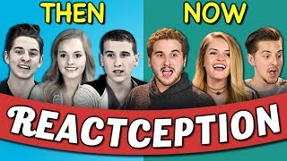 COLLEGE KIDS REACT TO THEMSELVES ON TEENS REACT #3