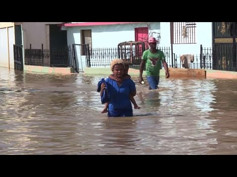 Dominican Republic faces flooding after Hurricane Maria