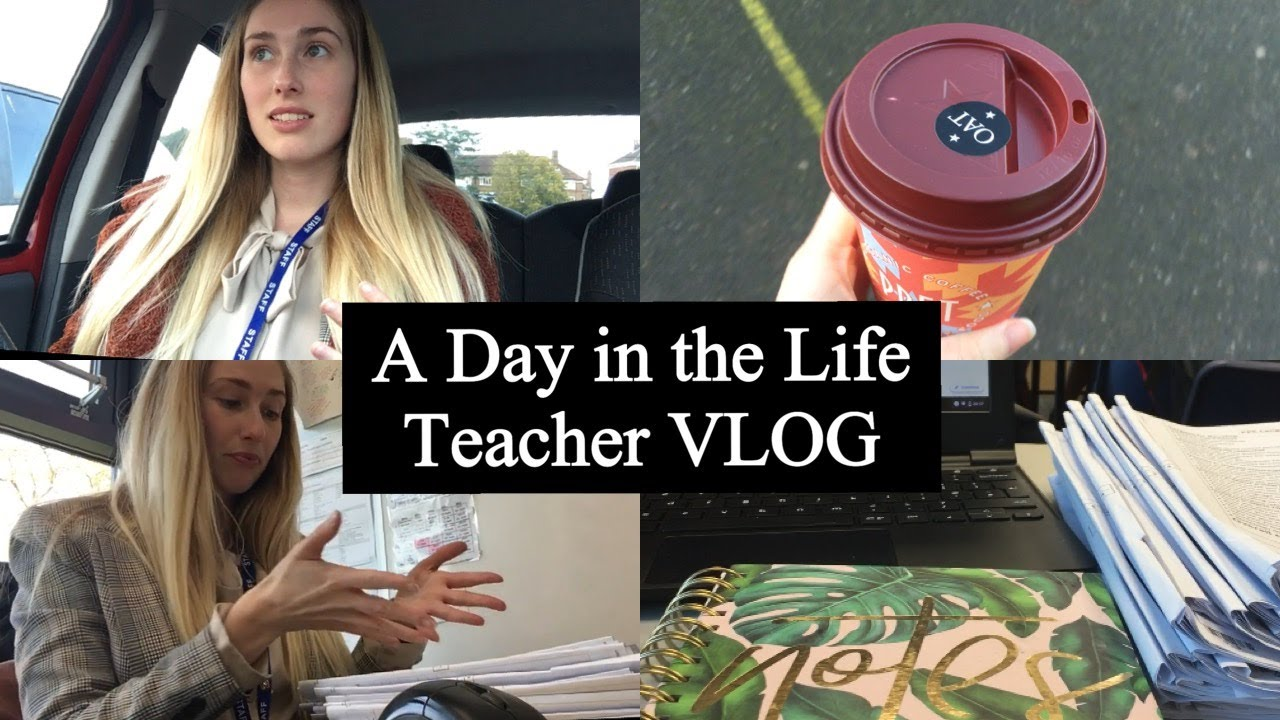 A Day in the Life of a Teacher VLOG | UK SECONDARY SCHOOL EDITION