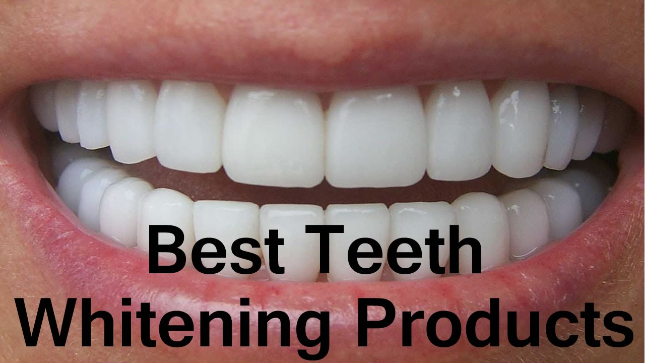 Best Teeth Whitening Products 2019 Youtube