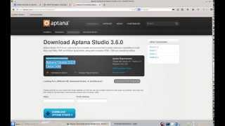 Install Aptana Studio 3 on Linux Machine