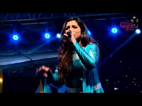 """Agar Tum Mil Jao"" song by Shreya Ghoshal @ 53rd Bengaluru Ganesh Utsava..!!!"
