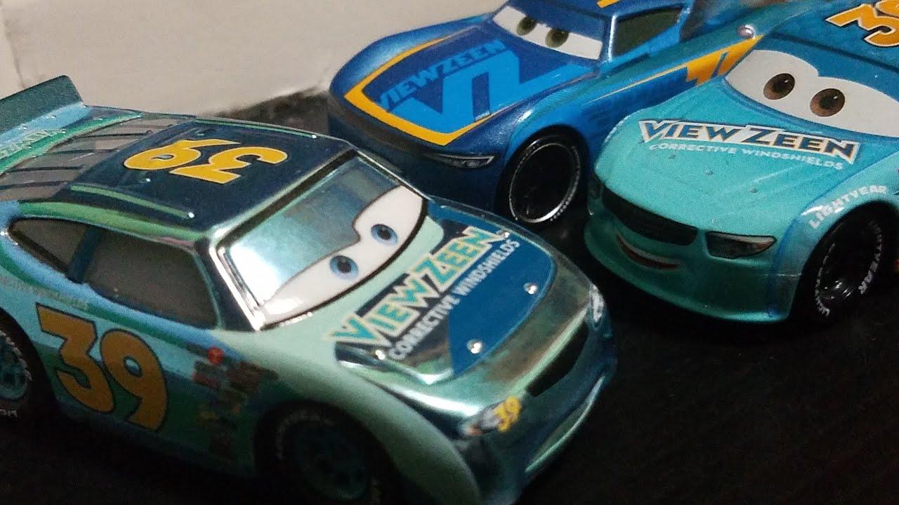 Download Disney Pixar Cars Metallic Ryan Shields (C1 Stock Car View Zeen #39, Scavenger Hunt) Review