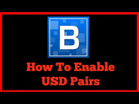 Bittrex Enables USD Trading Pairs?!? Here's How...