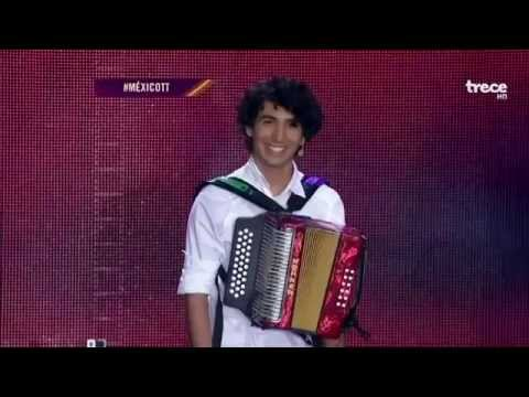 Mexico Tiene Talento 2014 El Acordeonista Mas Virtuoso INCREIBLE JOHNIVAN SAENZ