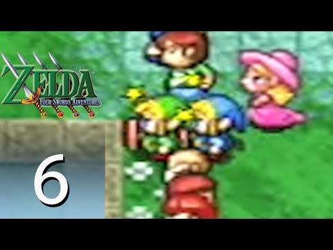 The Legend of Zelda: Four Swords Adventures – Episode 6: Village of the Blue Maiden [Part 2]