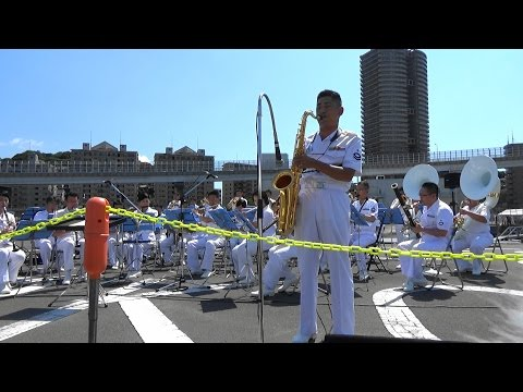 "Kool & the Gang ""Celebration"" - Japanese Navy Band"