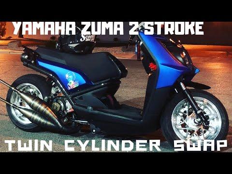 Zuma 125 2 stroke twin cylinder swap