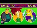 Simpsons Villains: Evil to Most Evil