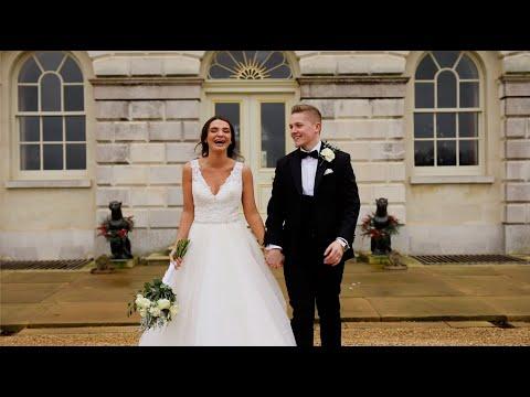 Elegant Winter Wedding at The Sculpture Gallery at Woburn // Wedding Sneak Peek Film