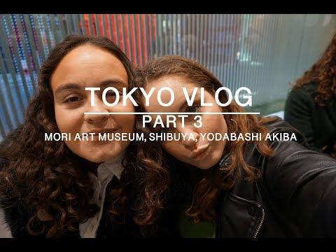 TOKYO VLOG - Part 3 - Shibuya, Mori Art Museum..