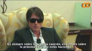 Brett Anderson- Entrevista en Chile 16-06-2009